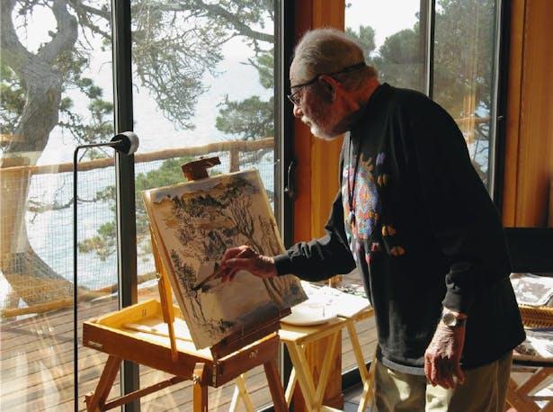 Lawrence Halprin at The Sea Ranch, image credit: Charles A. Birnbaum