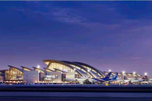 Lax S New Tom Bradley Terminal Receives Leed Gold Standard