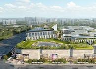 Aedas-Designed Garden City in West Shanghai—Shanghai BU Center