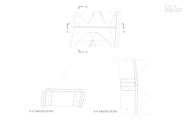 Structural Drawing: Panel Detail Image © Harrison Atelier