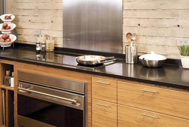 Hansen Road House kitchen