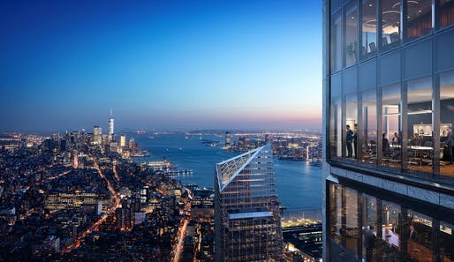 50 Hudson Yards By Foster and Partners | For Related. Image render courtesy of Red Leaf NY