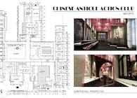 Chinese antique Club Design