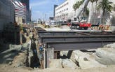 Coronavirus slowdown could push L.A. subway construction six months ahead of schedule