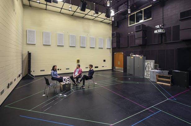 The Theater Rehearsal Hall also serves as performance venue. Photo: Richard Barnes