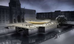 Berlin's Unity Monument 'seesaw' finally breaks ground