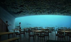 Snøhetta's underwater restaurant is almost complete