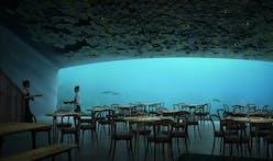 Snøhetta's underwater restaurant is almost complete