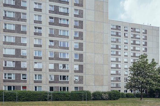 Prefabricated 'Plattenbau' slab buildings from Berlin's communist past may soon have additional housing units added on their roofs to ease the city's housing crunch. Photo: Alexander Rentsch/Flickr