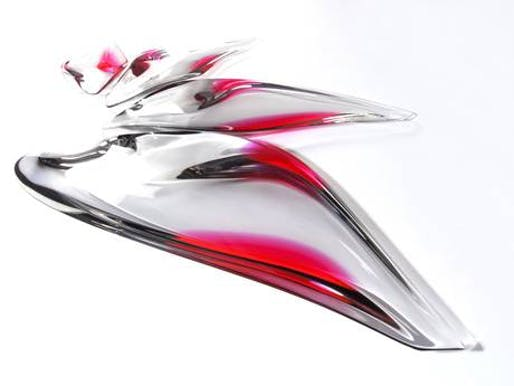 Zaha Hadid's £9,999 serving platter. Image via independent.co.uk