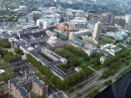 Aerial view of MIT's main campus. Photo: Wikipedia.