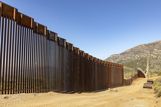 Border wall. Via flickr account of U.S Customs and Border Protection