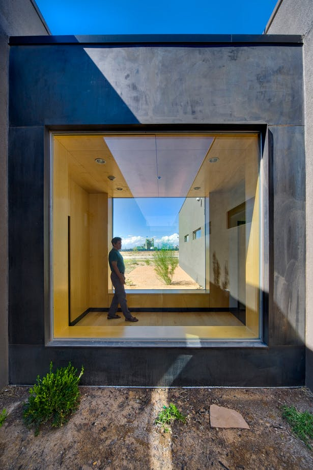 'Bridge', from internal courtyard. Image: Patrick Coulie