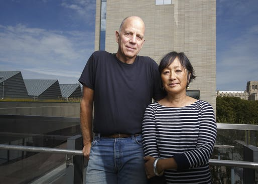 Tod Williams and Billie Tsien. Photo: Jason Smith