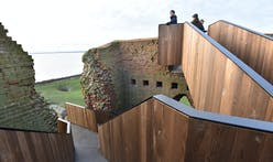 This slick staircase restores access to medieval Kalø Castle in Denmark
