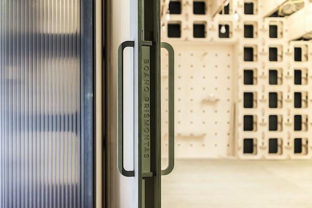 detail of the door