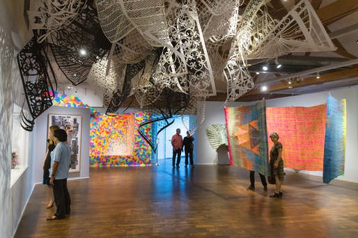 Craft Contemporary Paperworks Installation Image, September 2015. Photo: Craft Contemporary. Photo courtesy of Craft Contemporary / J. Paul Getty Trust