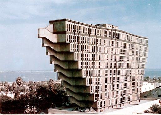 Hôtel du Lac, Tunis . ©Raffaele Contigiani, 1973.