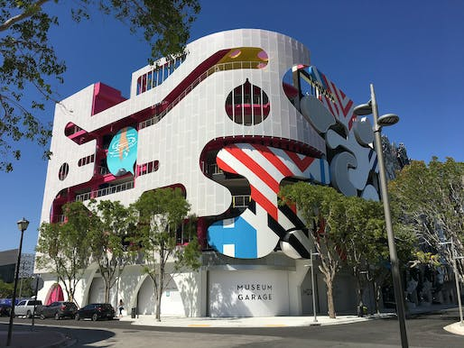"The Museum Garage in Miami's Design District. Photo: Phillip Pessar/<a href=""https://www.flickr.com/photos/southbeachcars/41698515291/in/photostream/"">Flickr</a>"