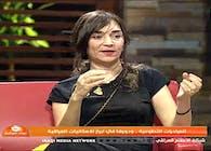 ريا العاني على شاشة قناة العراقيه   Raya Ani on Al Iraqiya TV Channel
