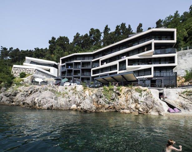 Hotel Navis Opatija Nikola Stefanac Archinect