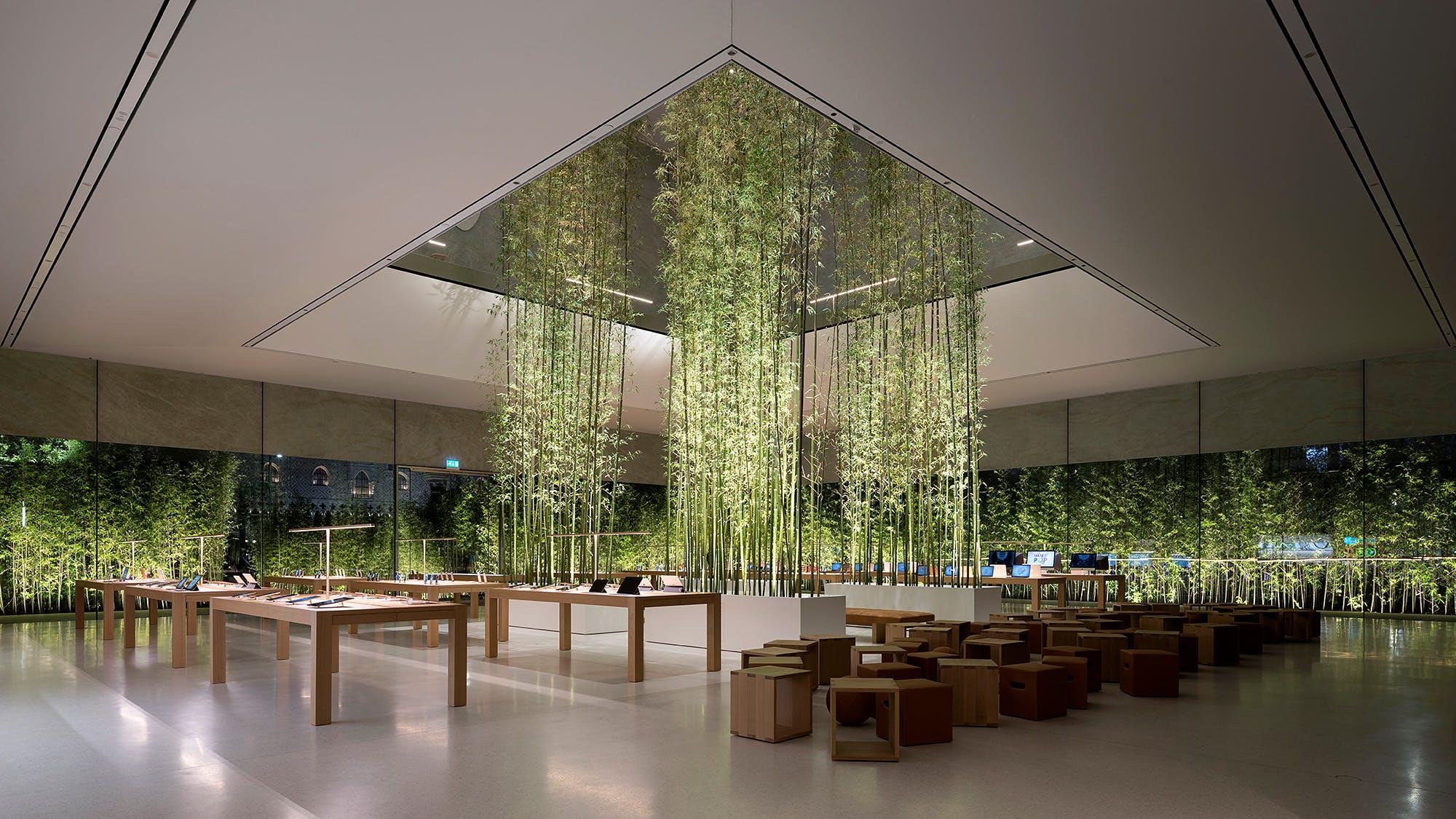 Senior Housing Floor Plans Foster Partners Designs Apple S New Cotai Central Store