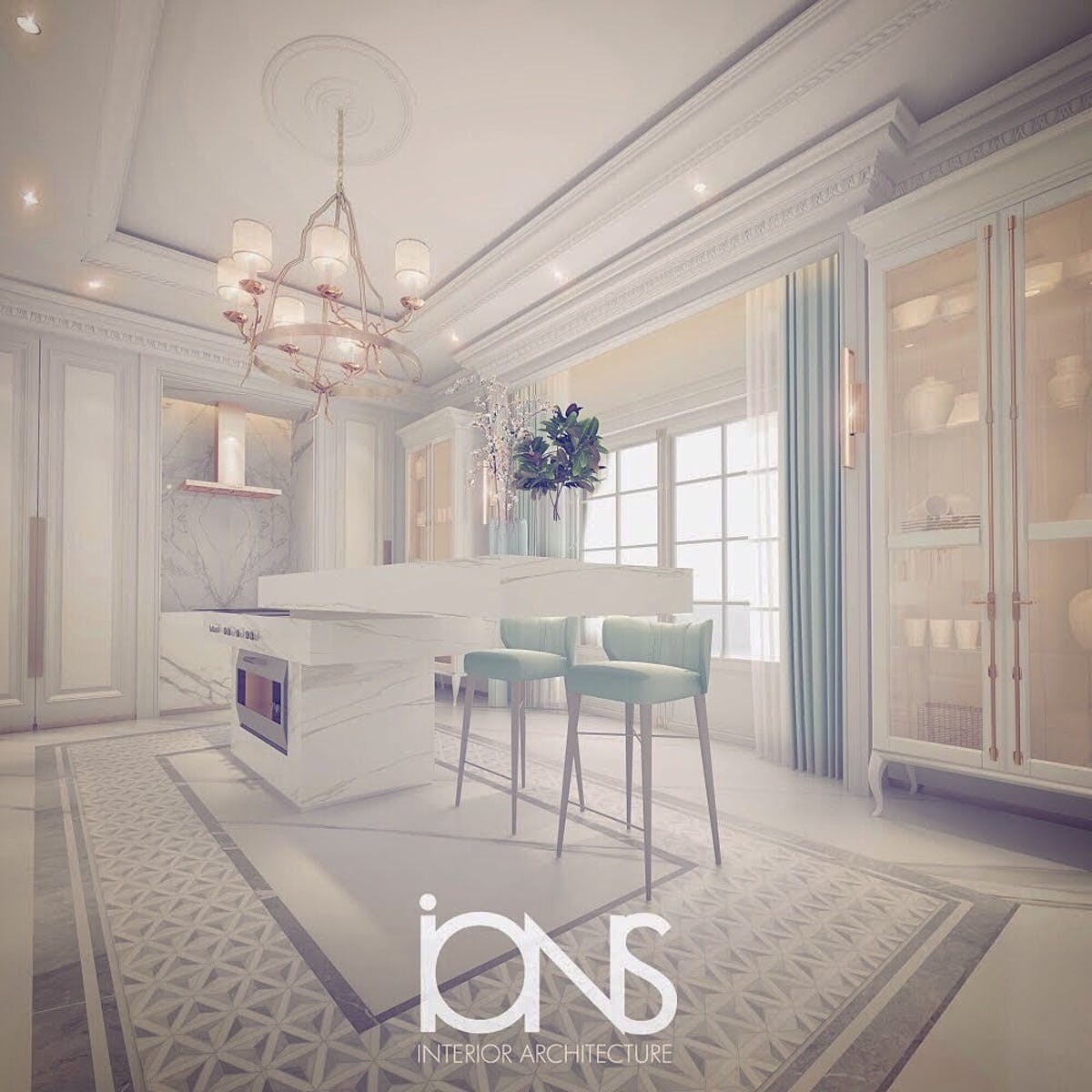 Ions Interior Design Dubai luxury design for kitchen interiors | ions design | archinect