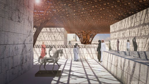 2019 Rifat Chadirji Prize winner: Barjeel Museum For Modern Arab Art by AIDIA STUDIO. Courtesy AIDIA STUDIO.