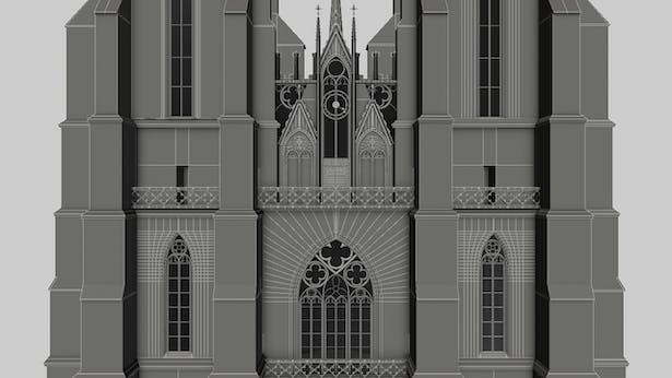 Marburg Cathedral Facade