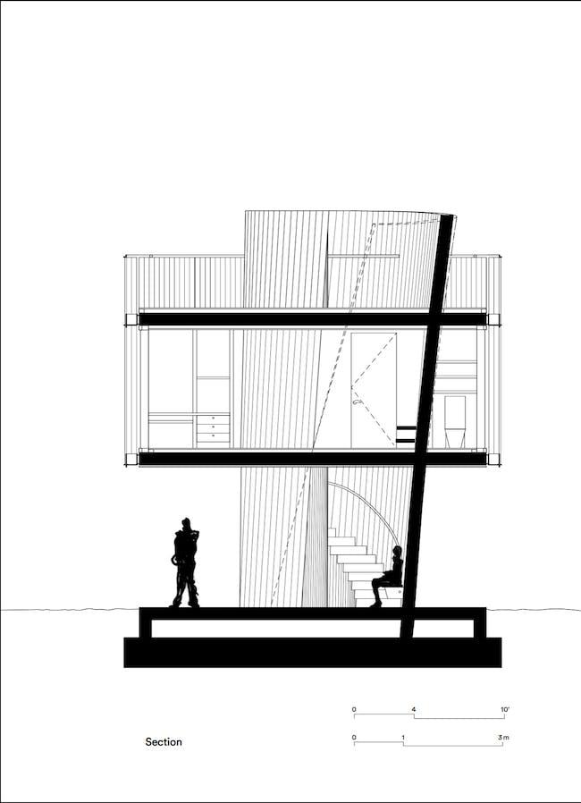 Section. Courtesy of Studio Christian Wassmann.