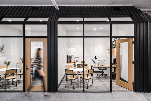Shake Shack Headquarters by Michael Hsu Office of Architecture. Photo © Chase Daniel.
