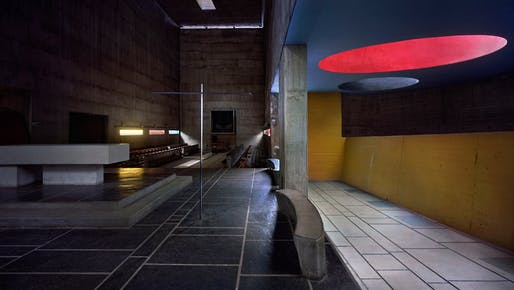 La Tourette, by Le Corbusier. Photograph by Richard Pare.
