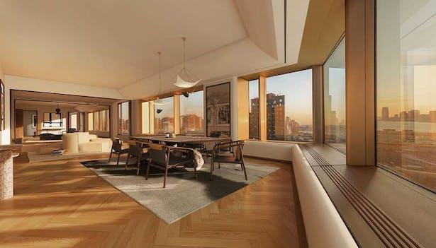 #82 foot long grand room - creative direction & rendering