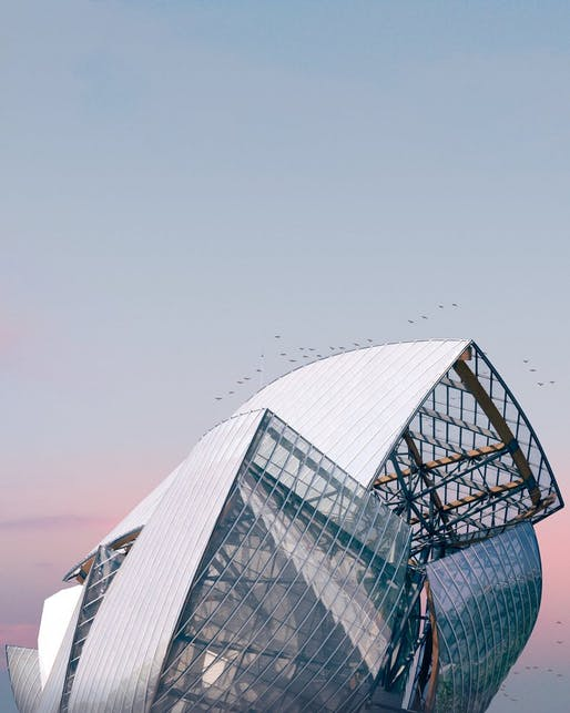 Fondation Louis Vuitton by Frank Gehry. Photo © Pierre Châtel-Innocenti.