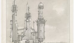 Lebbeus Woods drawing collections are acquired by the Getty Research Institute