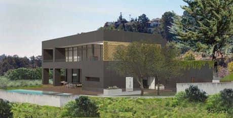 House in Beverly Hills. Completion in 2017