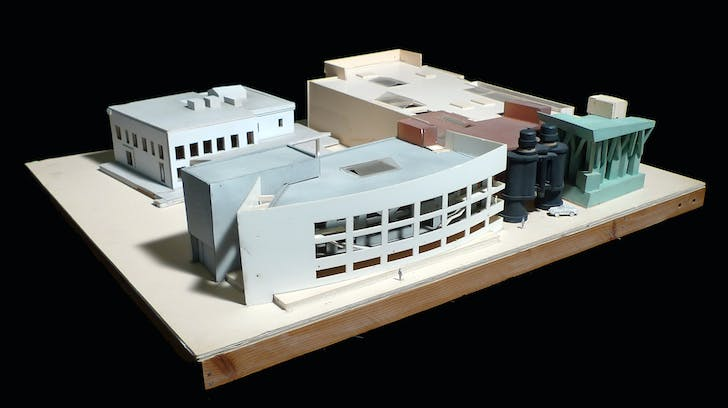 Model for Chiat Day. Image courtesy of LACMA.