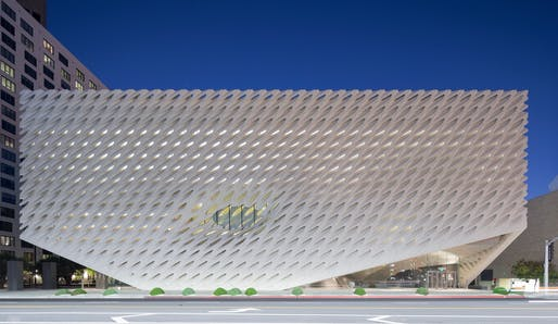The Broad by Diller Scofidio + Renfro, located in Los Angeles. Image: Diller Scofidio + Renfro.