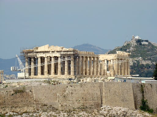 """View of the Parthenon at the Acropolis of Athens. Photo: F. Tronchin/<a href=""""https://www.flickr.com/photos/frenchieb/5999534558/"""">Flickr</a> (CC BY-NC-ND 2.0)"""
