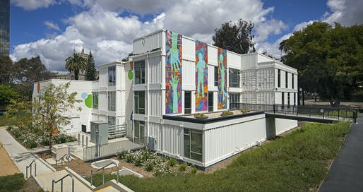 Heart of Los Angeles (HOLA) Arts and Recreation Center by Berliner Architects. Photo: Tom Bonner.