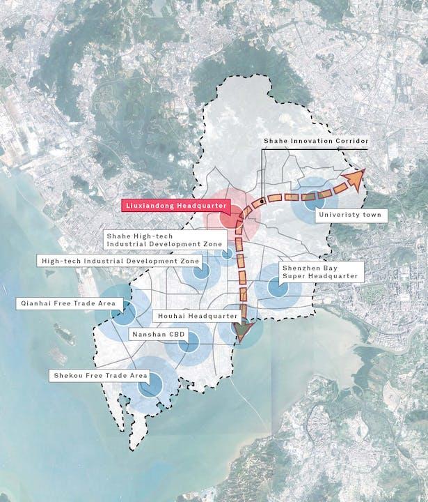 Shenzhen Transsion Tower, site analysis