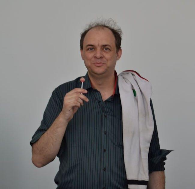 Graham Harman at MACBA. Image via wikipedia.com