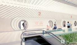 Virgin Hyperloop: new concept video shows pod interiors and BIG-designed portals