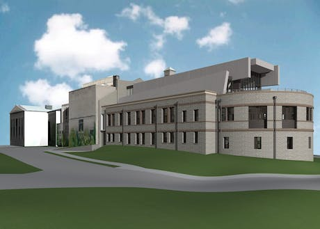 We have currently under constrcution the renovation of the Art Academy Building of the Cincinnati Art Museum