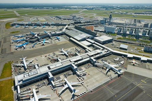 Aerial image courtesy of Amsterdam Airport Schiphol.