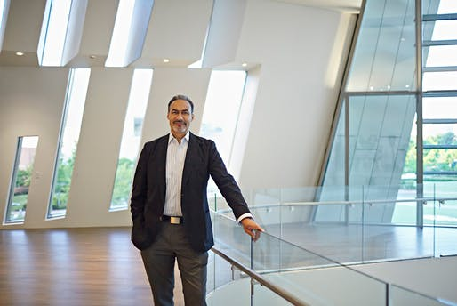 Noted architect Phil Freelon, 66, has passed away. Image courtesy of Perkins+Will.