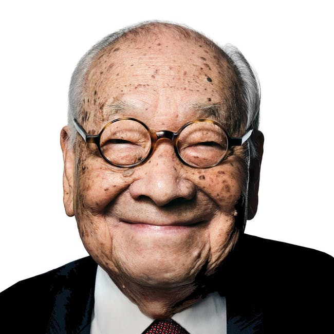 I.M. Pei (1917 - 2019). Image courtesy of committee100.com