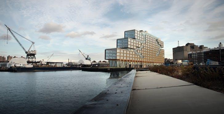 Dock 72, Brooklyn. Image via S9 Architects
