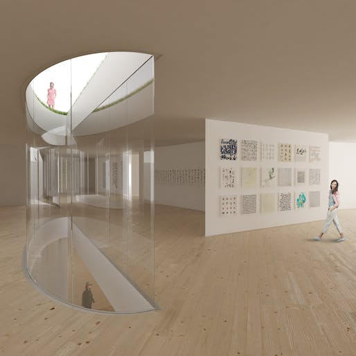 Permanent exhibition space. Image courtesy of Hou de Sousa.