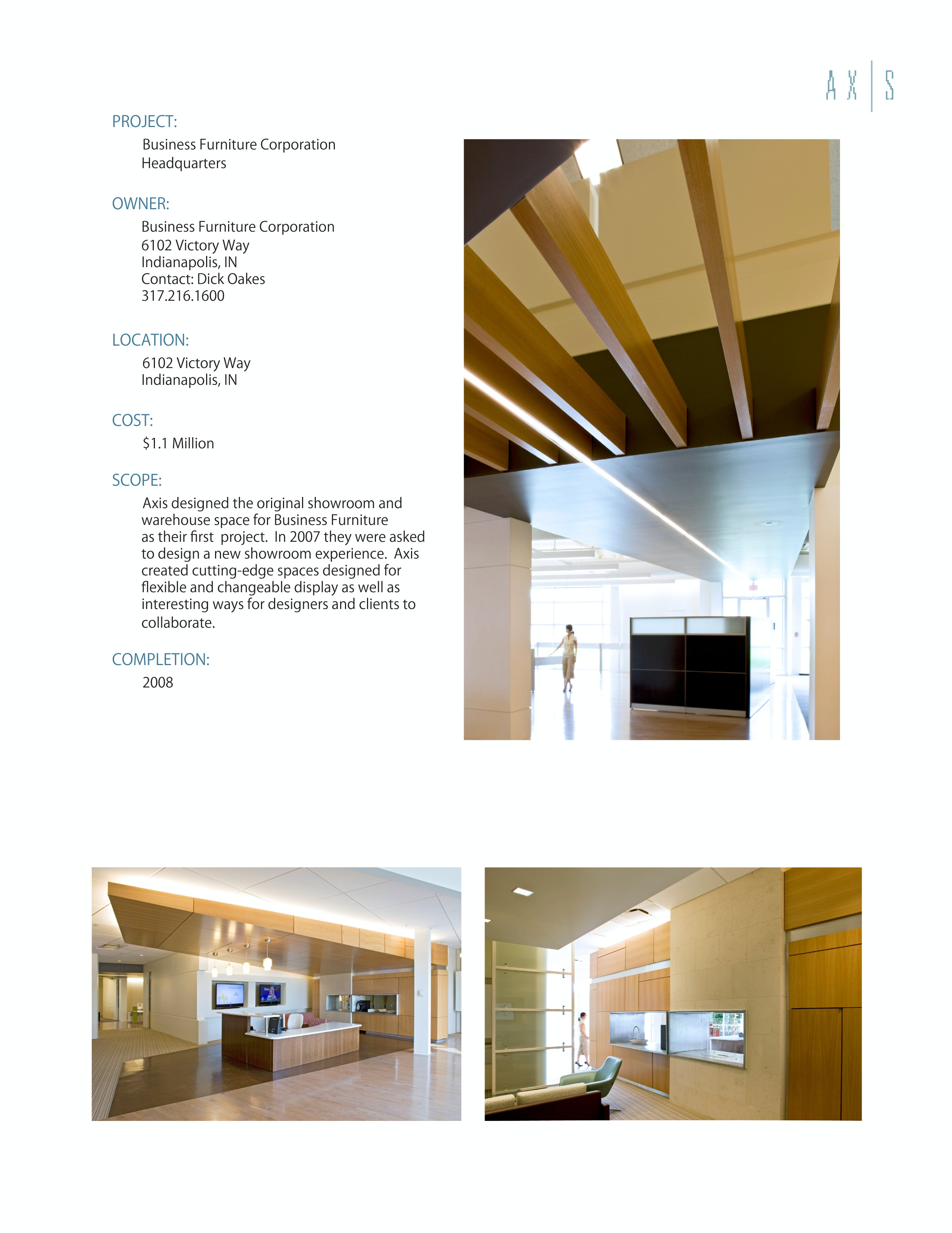 Business Furniture Corporation Headquarters | Axis Architecture + Interiors  | Archinect